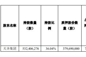 天齐锂业控股股东拟减持8862.6万股今天股价涨0.98%