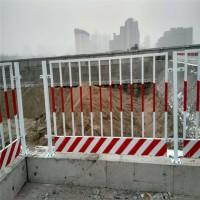 (安平瑞旗隆)方管基坑护栏网现货 建筑工地施工基坑护栏 基坑隔离栅建筑工地施工临边 临时防护围栏低价现货